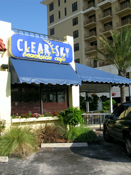 Clear Sky Cafe Clearwater Beach Fl