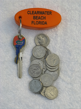 clearwater beach quarters for parking