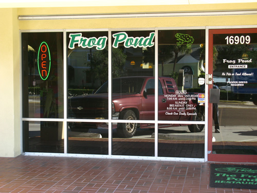 frog pond restaurant north redington beach fl is located on gulf blvd