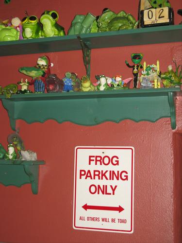 frog pond restaurant north redington beach fl on gulf blvd inside view