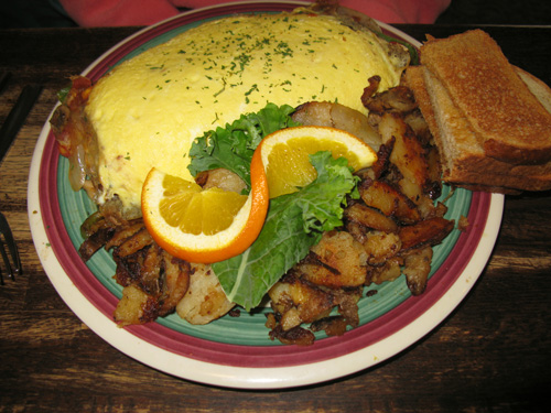 frog pond restaurant north redington beach fl on gulf blvd spanish omelet