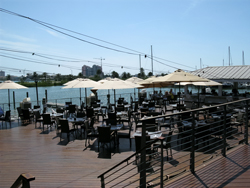 island way grill outside seating