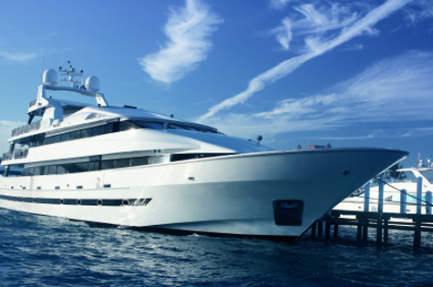 a luxury yacht charter is both romantic and laid back