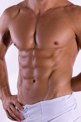 you can lose male abdominal fat with good food choices and regular resistance exercise