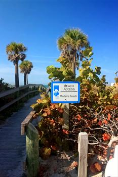 madeira beach fl public beach access