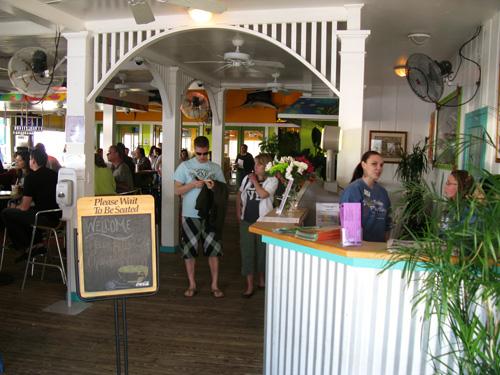 palm pavilion restaurant hostess desk