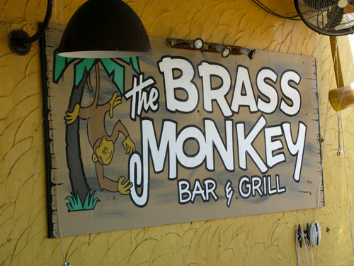 pass-a-grille historic district brass monkey bar on 8th avenue