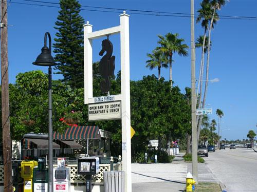 pass-a-grille historic district seahorse restaurant