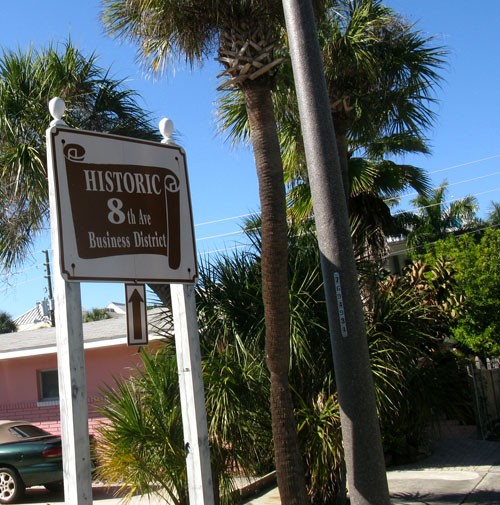 pass-a-grille historic district sign