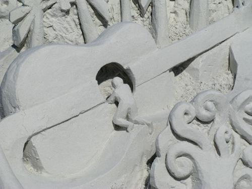 sand sculpture contest 2010 treasure island florida lucinda wierenga piece sand sculpture detail