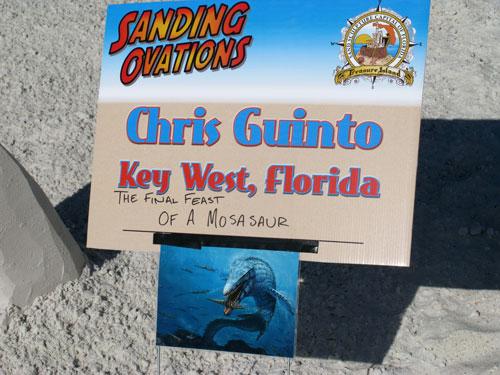 sand sculpture contest 2010 treasure island florida chris guintos photo source