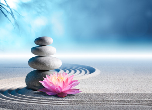 Some people enjoy creating a zen garden to stack stones.