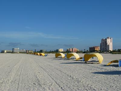Treasure Island Beach Cabanas