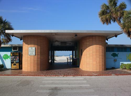 municipal beach treasure island florida