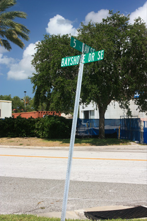 albert whitted park is located at the intersection of se bayshore and 5th avenue se in st petersburg fl