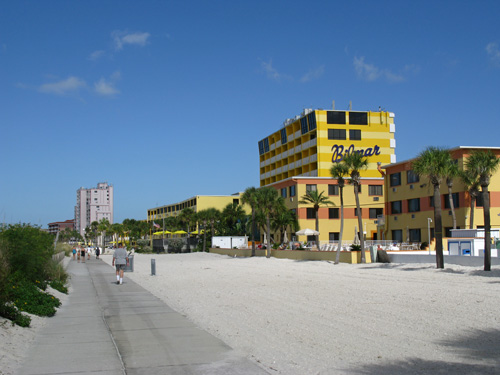 black friday shopping on the beach