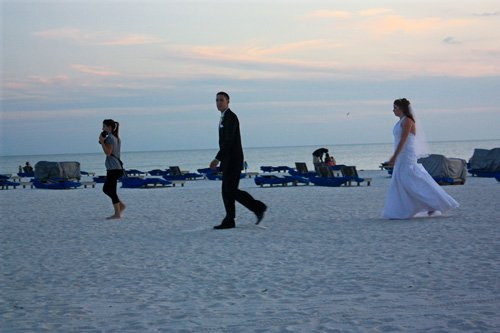 florida beach weddings take place at the grand paza hotel on St pete beach fl