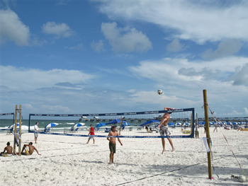 clearwater beach pier 60 volleyball