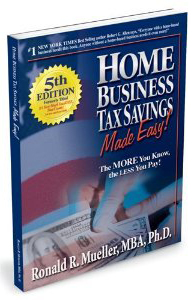tax deductions for a home business must be legitimately documented