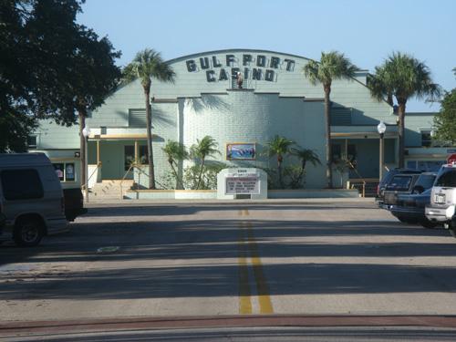 We eat at O'Maddy's before dancing at the Gulfport Casino.