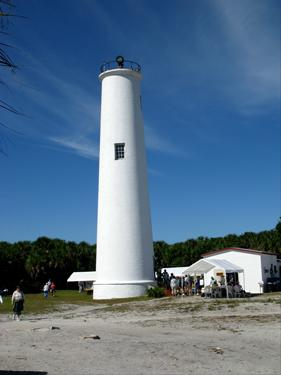 egmont key walking tour lighthouse