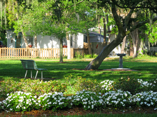 City park in Gulfport FL.