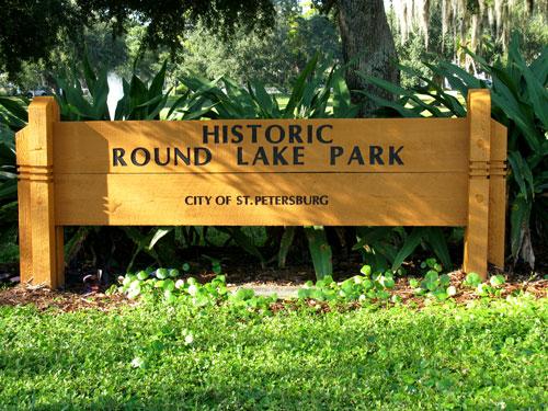 historic round lake park st petersburg fl