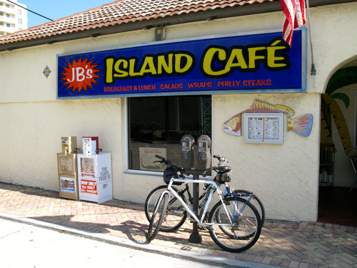 breakfast at jbs isnad cafe is a great way to start your florida beach vacation morning