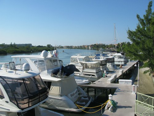 breakfast at jimmy guanas indian rocks beach fl outside seating on second floor patio deck boat dock view