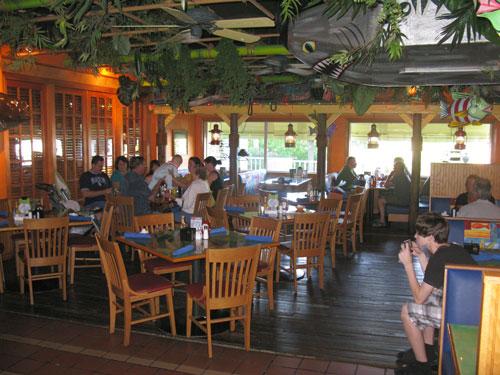 breakfast at jimmy guanas indian rocks beach fl inside seating