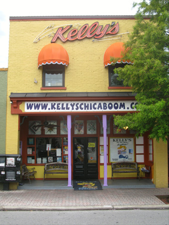 we had breakfast at kellys restaurant in dunedin fl