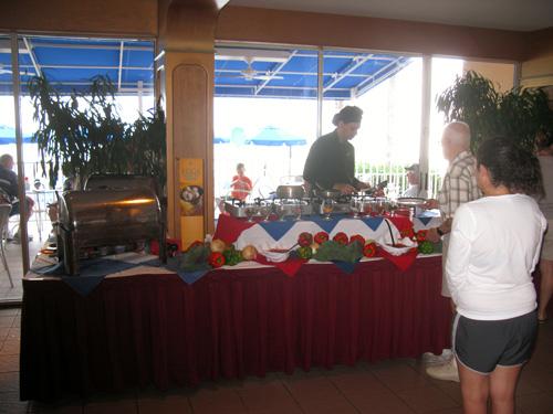 the omelet at the mangos restaurant brunch on north redington beach fl