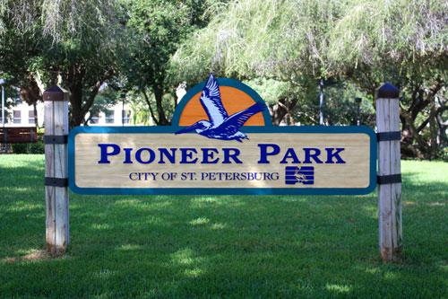 pioneer park st. petersburg florida
