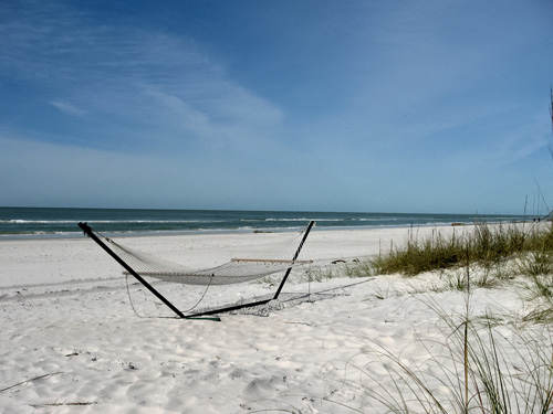 A Quiet Florida Beach Vacation