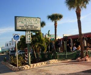 ricky t beach bar treasure island florida