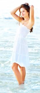 sundresses for weddings on the floria beach