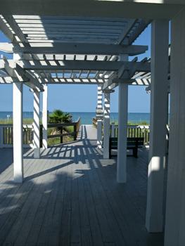 sunset beach pavilion breezeway