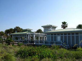 sunset beach pavilion for florida beach weddings