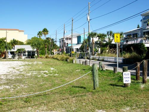 Sunset Beach Florida looking onto Harrell Street.